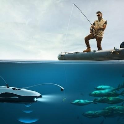 釣りもできて、魚も探せる海のドローン!