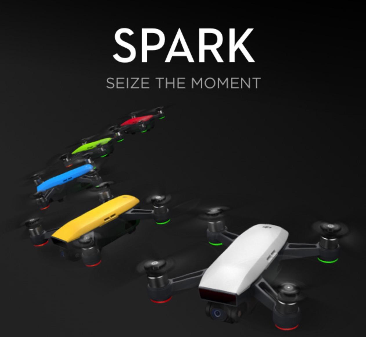 DJI 「Spark」「Mavic」「Phantom」を比較してみよう