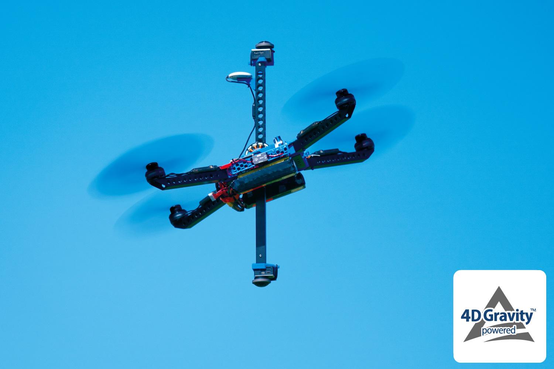 ドローン業界に革命をもたらす最新技術?!4Dグラビティとは!