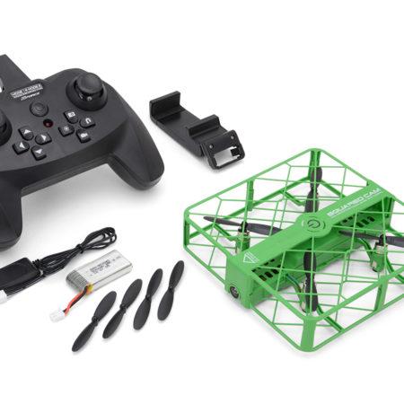 ジーフォース フルカバー ドローン GForce drone 「SQUARED CAM(スクアード・カム)」グリーン