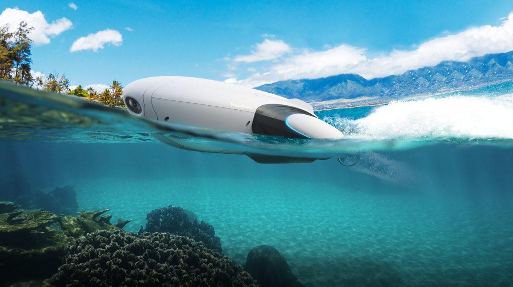 水中ドローン 水上ドローン PowerVision PowerDolphin